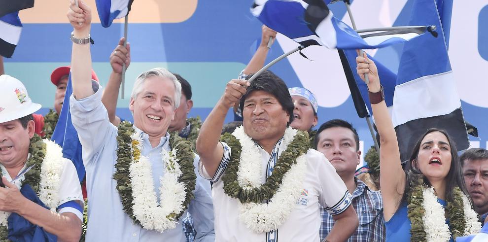 Morales es de nuevo candidato para proseguir el cambio
