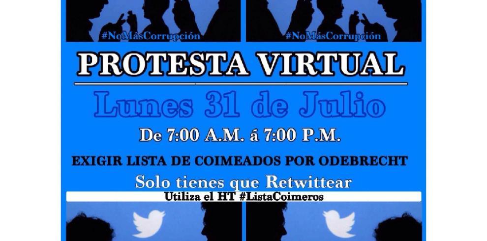 CCI organiza protesta virtual contra la corrupción