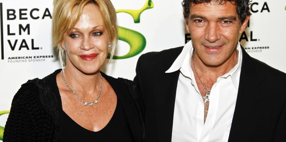 Antonio Banderas y Melanie Griffith siguen hablando casi a diario