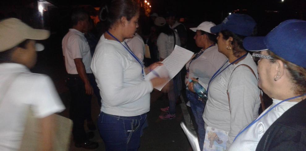 Miviot realiza censo nocturno en Las Garzas de Pacora