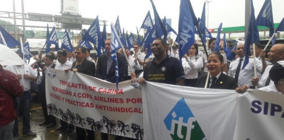 ITF Américas en solidaridad con pilotos de Copa Airlines