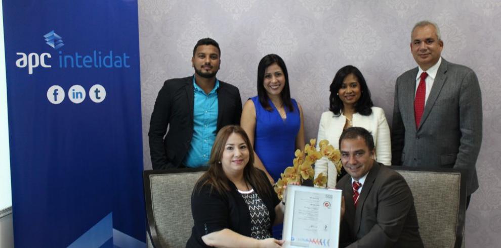 APC obtiene certificación ISO 9001:2015