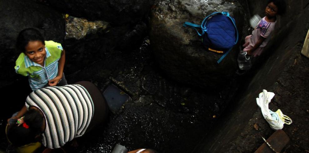 Un pueblo sin agua potable