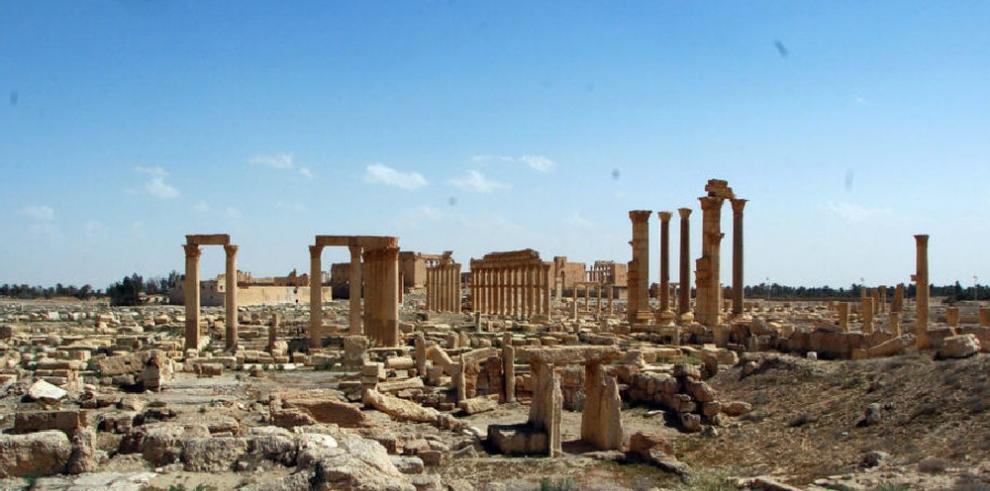 El Ejército sirio toma la ciudadela de Palmira