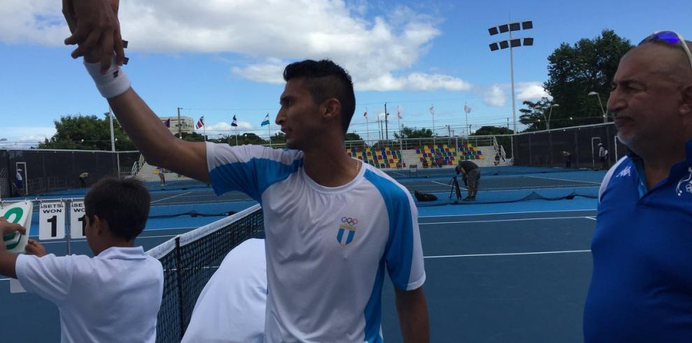 Guatemala gana dos oros en el tenis de losXI Juegos Centroamericanos