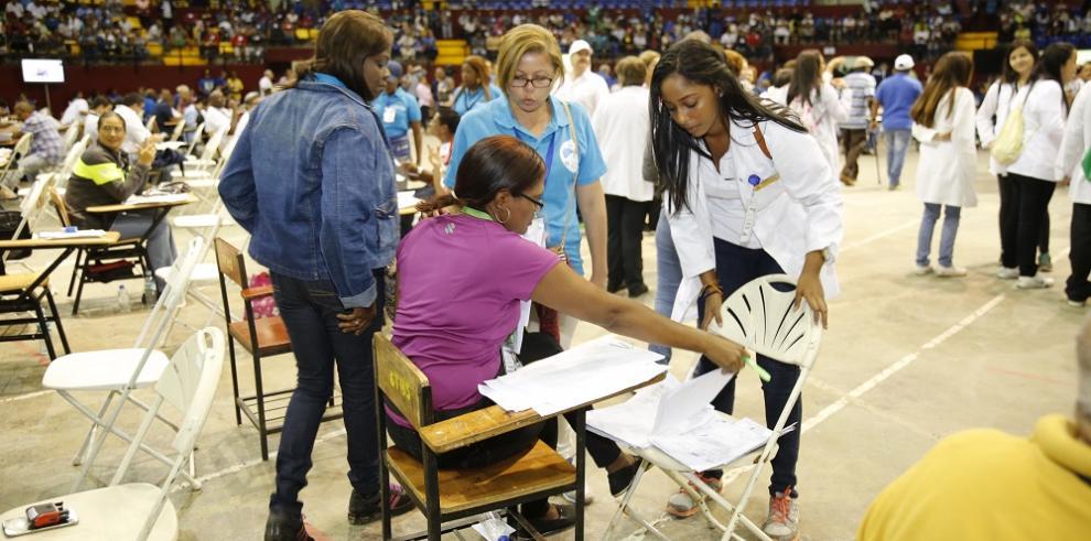 Más de 4 mil panameños asisten a mega censo de salud preventiva