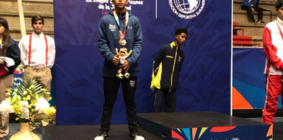 Panamá con tres medallas en Chile, 2017