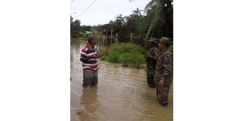 Al menos 150 casas afectadas en Chiriquí por mal tiempo, confirma el Sinaproc