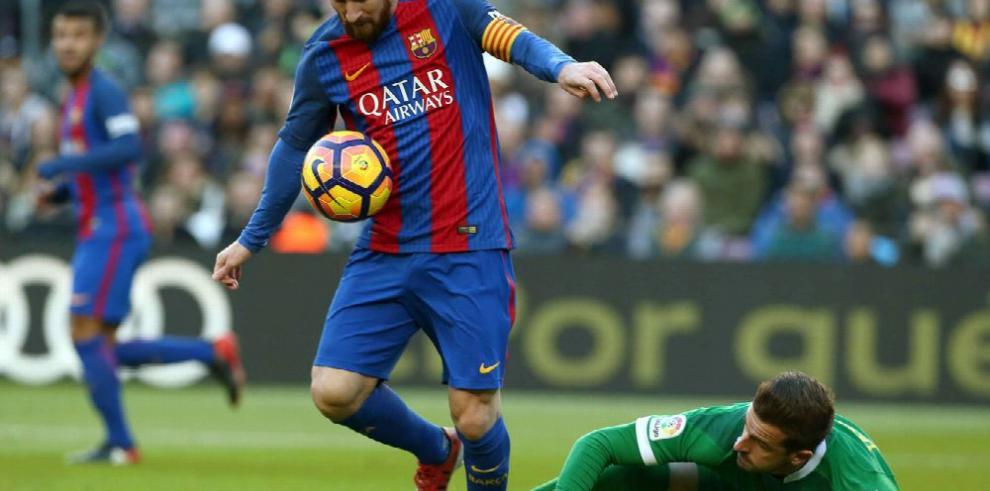 Barça se luce ante un Las Palmas muy flojo