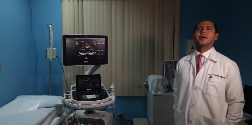 Hospital Santo Tomás adquiereecocardiógrafo