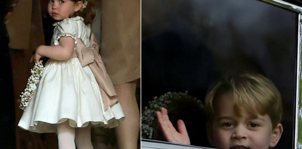 Jorge y Carlota irán a homenaje de Diana de Gales