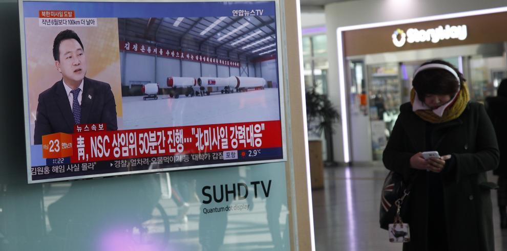 La OTAN condena el lanzamiento de un misil balístico en Corea del Norte