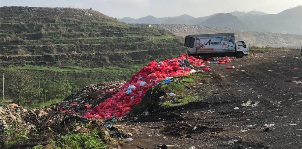 Desechos hospitalarios deben ser tratados antes de llegar a Cerro Patacón