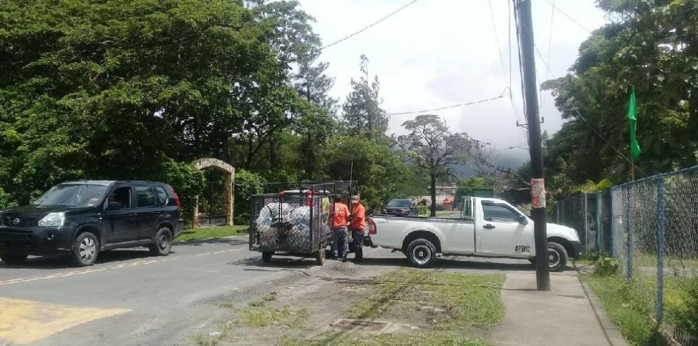 Tercera jornada de limpieza en El Valle de Antón