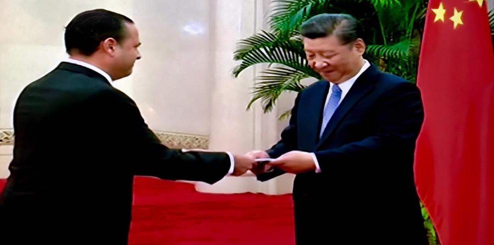 Embajador de Panamá en República Popular de China presentó cartas credenciales