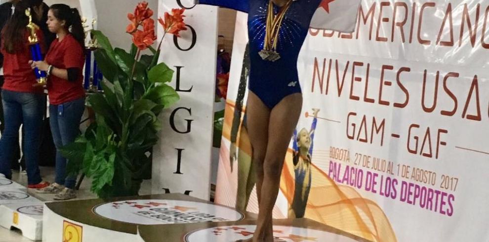 Club No Limits se destacó enel Campeonato Sudamericano de Gimnasia Artística