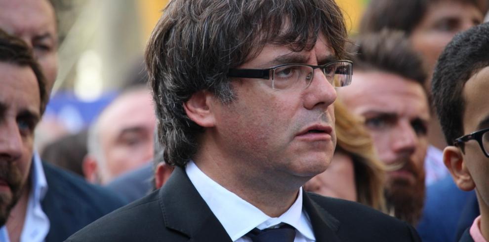 El presidente catalán suspende su comparecencia institucional