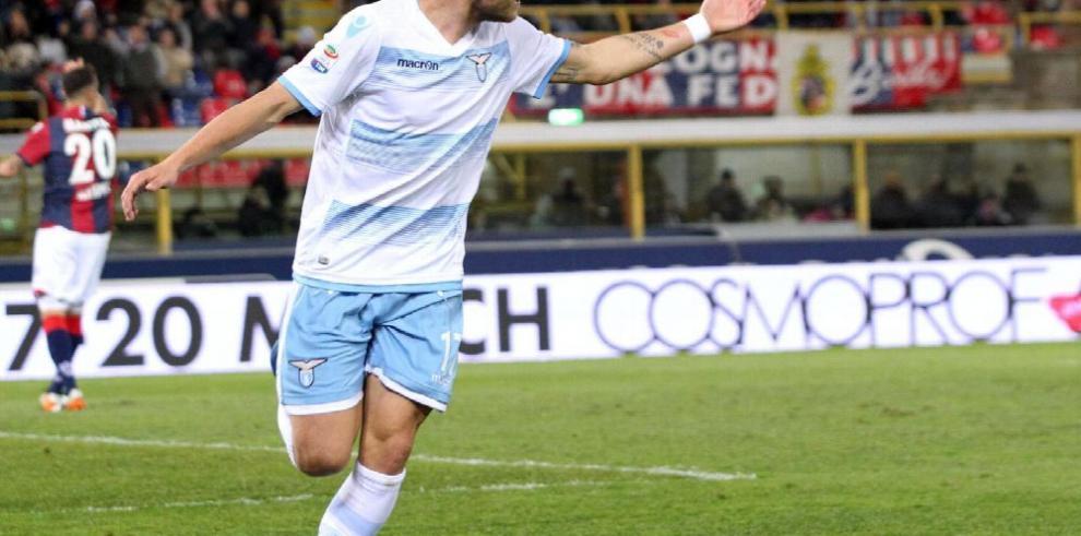 El Lazio con doblete gana 2-0 en Bolonia y es cuarto