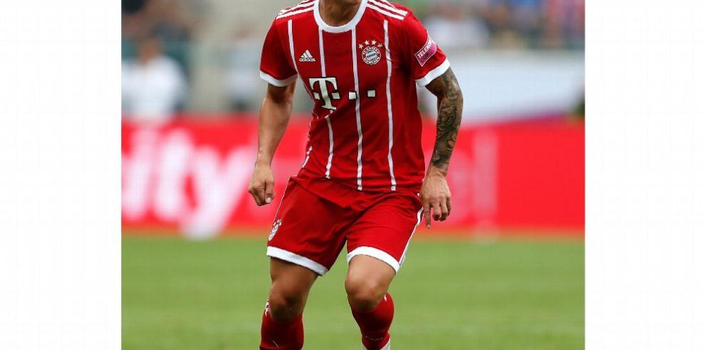 James no tiene segura la titularidad, advierte Ancelotti