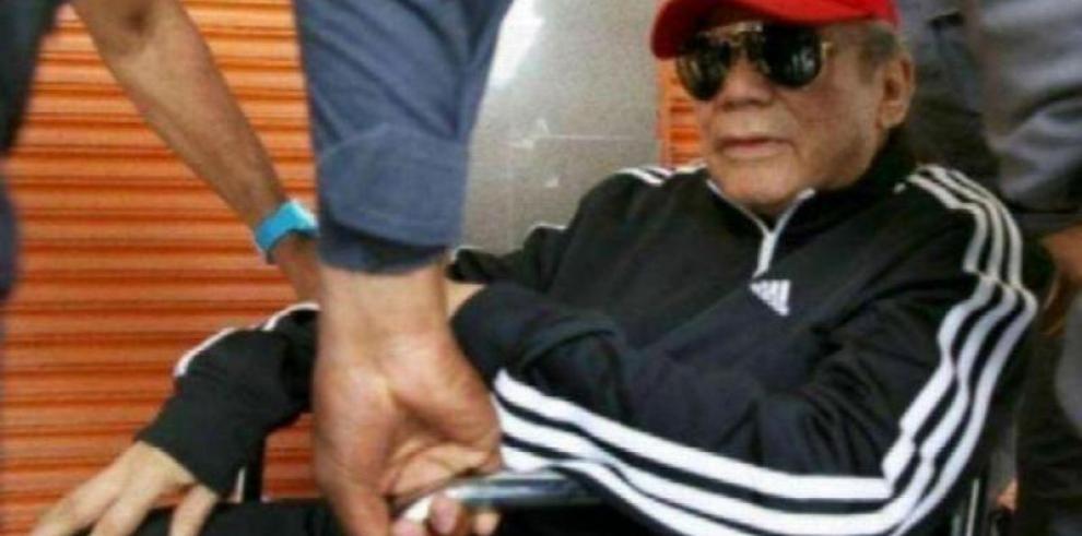 Realizan audiencia de extinción de pena de Manuel Antonio Noriega