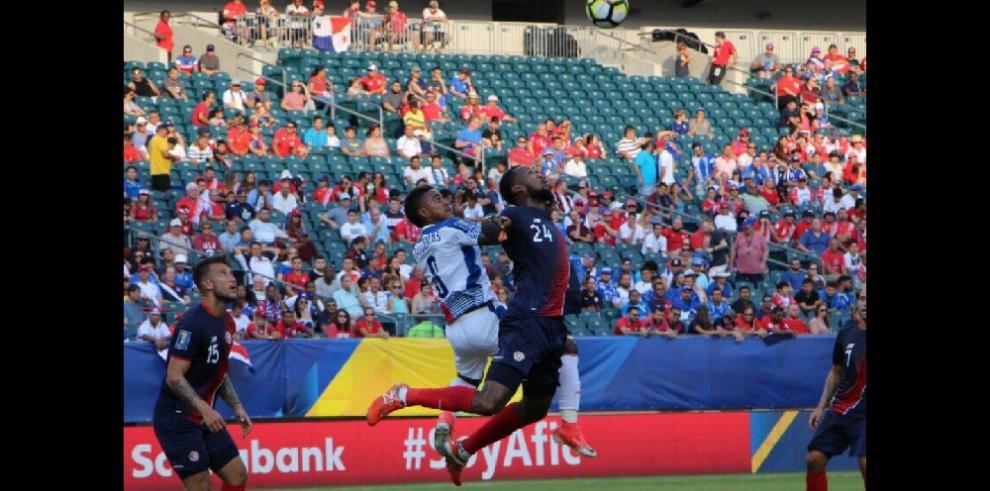 Costa Rica deja a Panamá fuera de la Copa Oro
