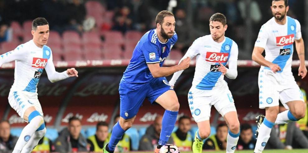 Juventus y Nápoles firmaron un empate