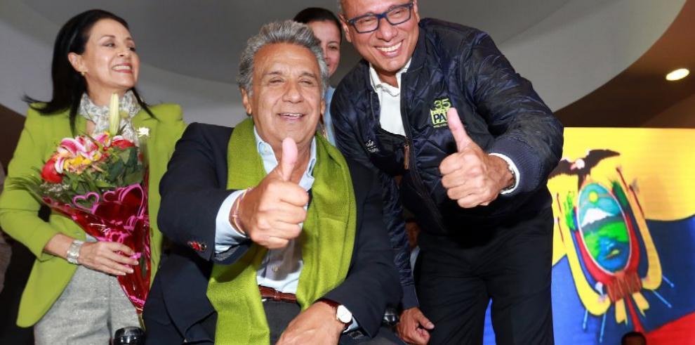 Lenín Moreno se alza con el triunfo presidencial