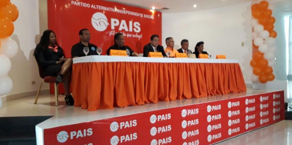 'PAIS' se prepara para inscribirse como partido