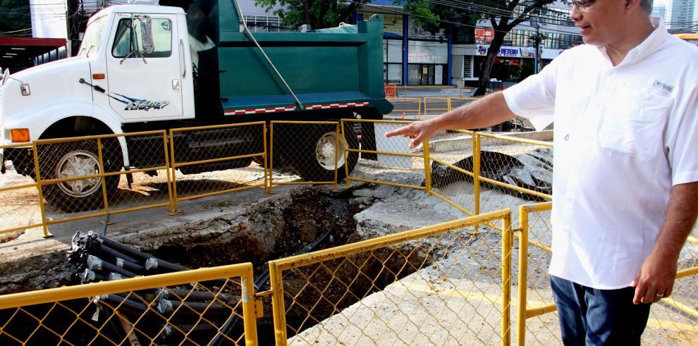 Proyecto de revitalización de la ciudad presenta un 25% de avance