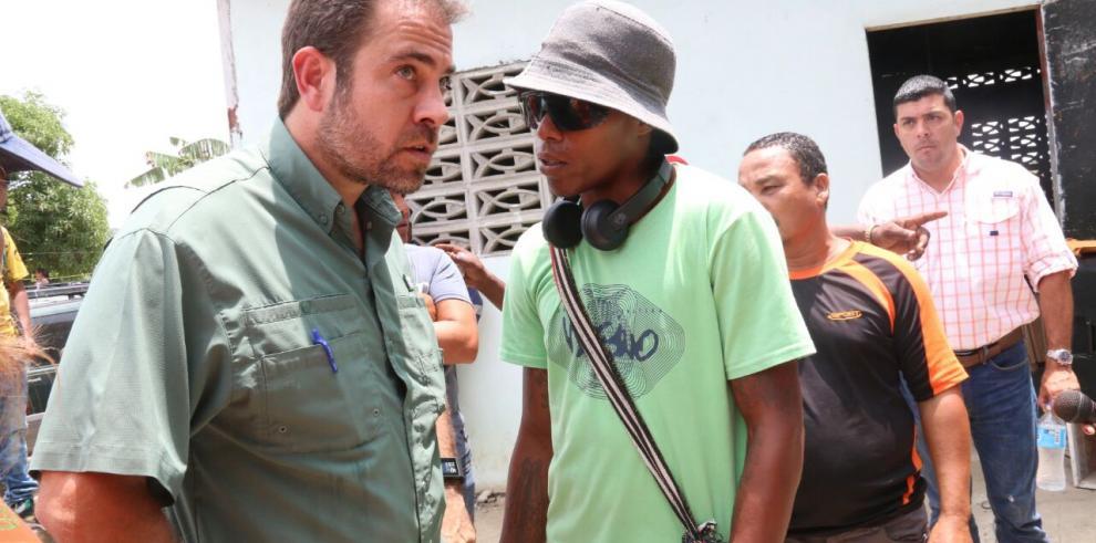 Ministro Etchelecu se reúne con afectados por Corredor Panamá Norte
