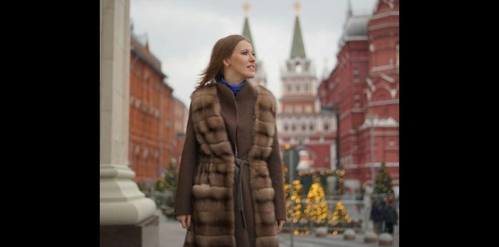 La periodista que fue postulada a la Presidencia rusa