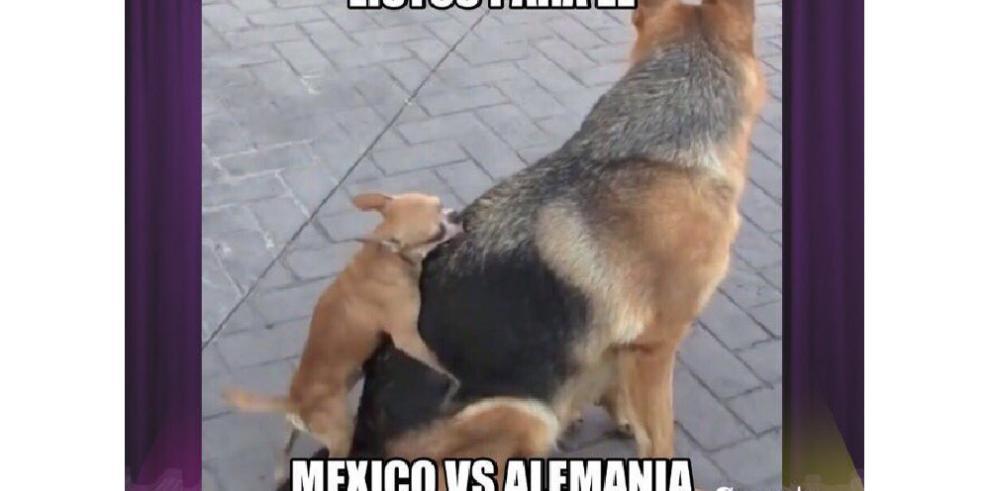 Los mejores Memes del México vs. Alemania