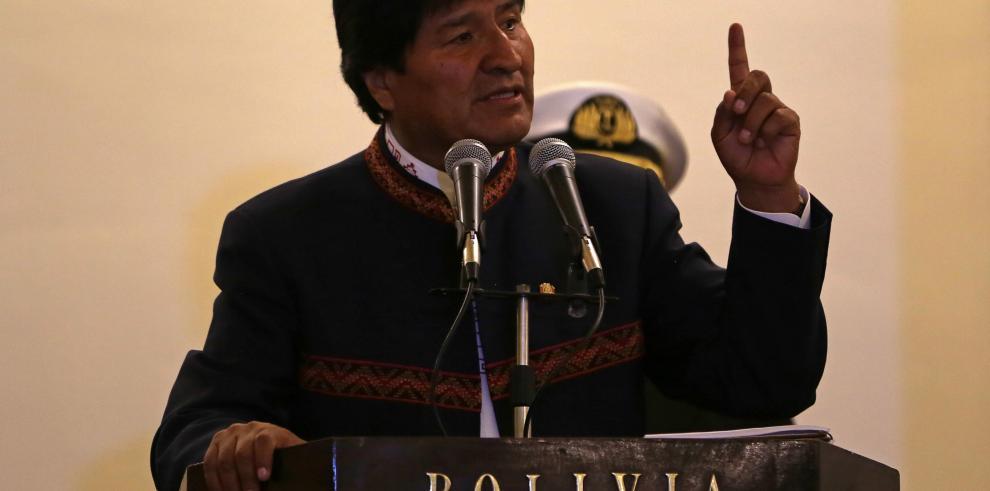 Morales dice que Trump debe pedir