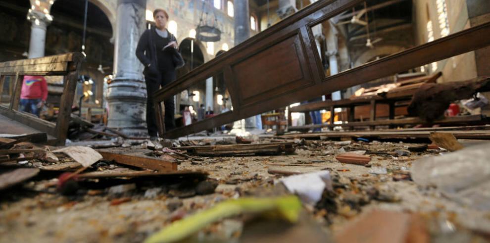 A prisión, sospechosos de bombazos en iglesias egipcias