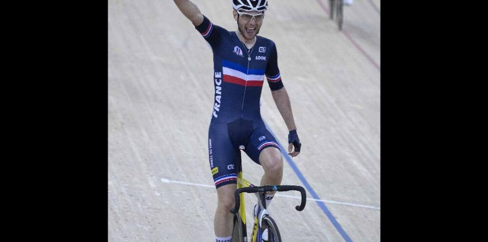 Thomas, brilla en el Mundial de Ciclismo de Pista