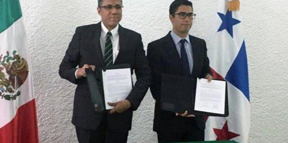 Panamá y México firman convenio