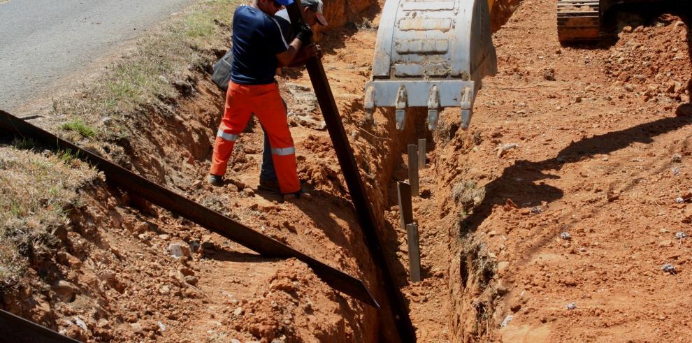 El MOP repara la vía hacia Cerro Azul
