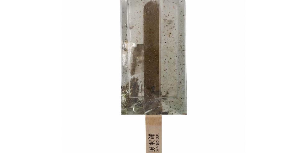 Innovación con paletas de agua contaminada