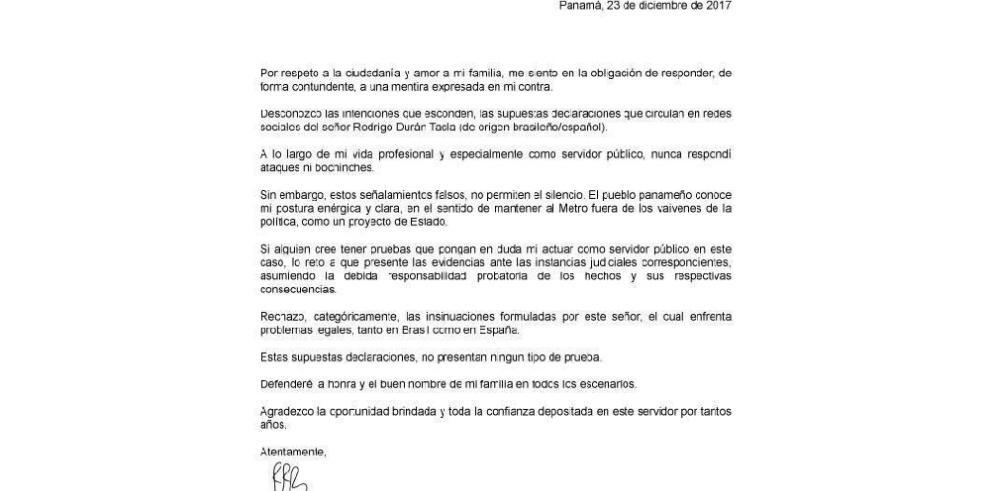 Roberto Roy reta a probar señalamientos de Tacla Durán sobre coimas