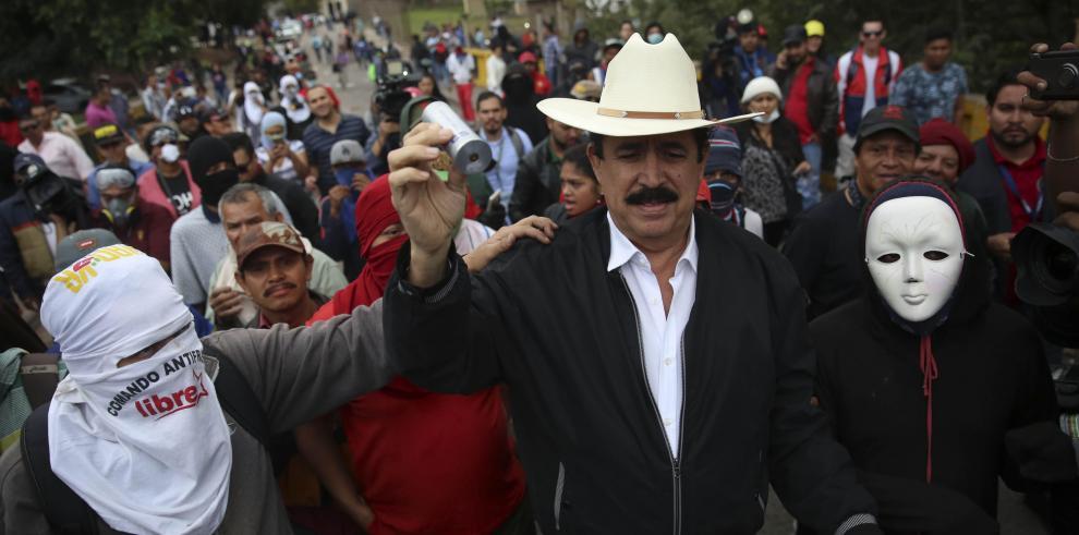 Suspenden protesta en Honduras pero Nasralla emplaza convocar nuevos comicios