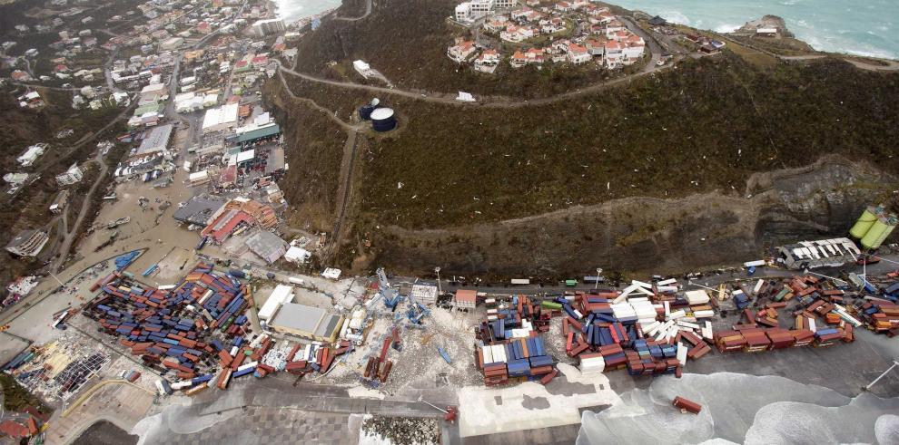Destrucción en San Martin es