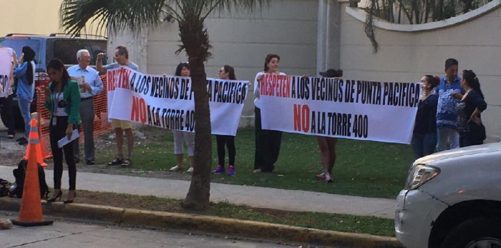 Residentes denuncian anomalías en proyectoPacific Point
