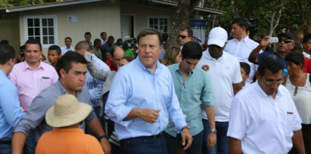 Varela pone en marcha obras por $340 millones