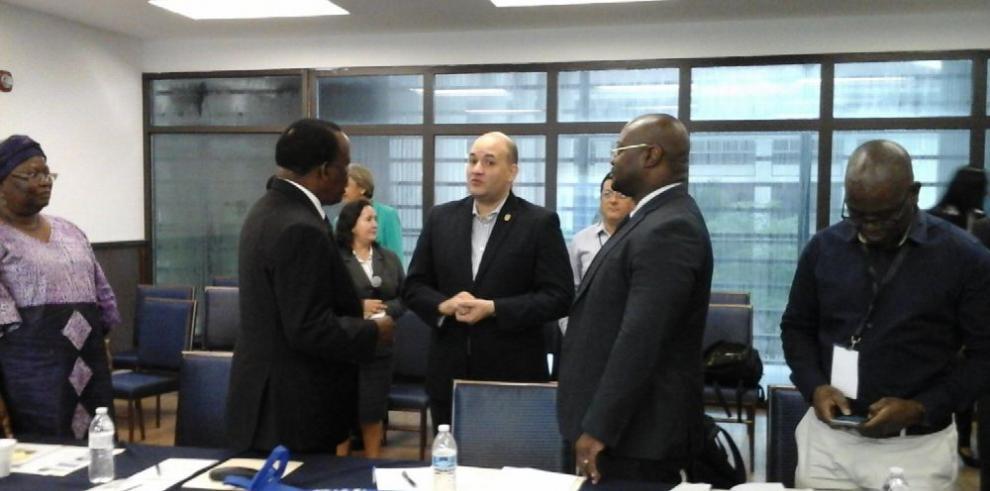 Delegación del TE de Zambia se capacita en Panamá