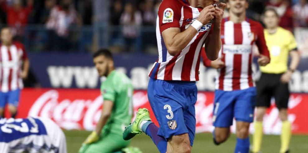 El Atlético sigue con su buena racha