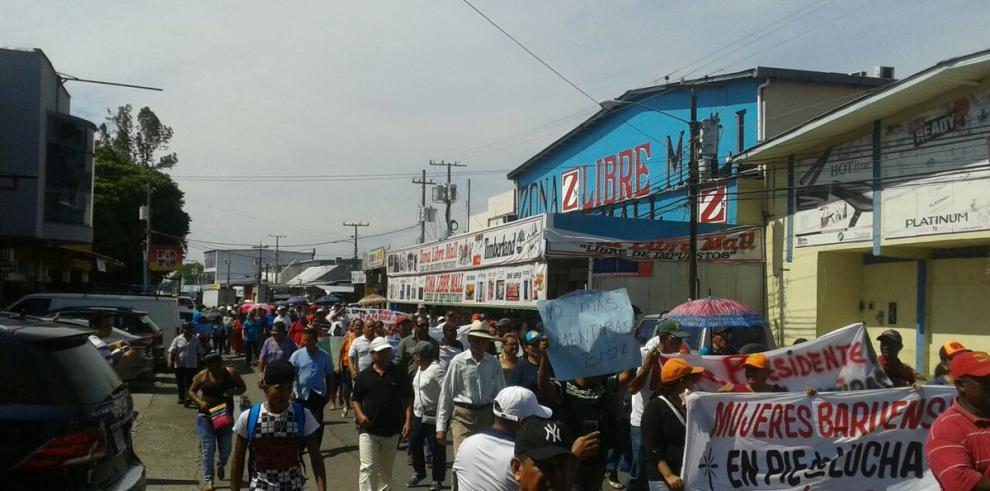 Protestan en Puerto Armuelles por demora en acuerdo con Del Monte