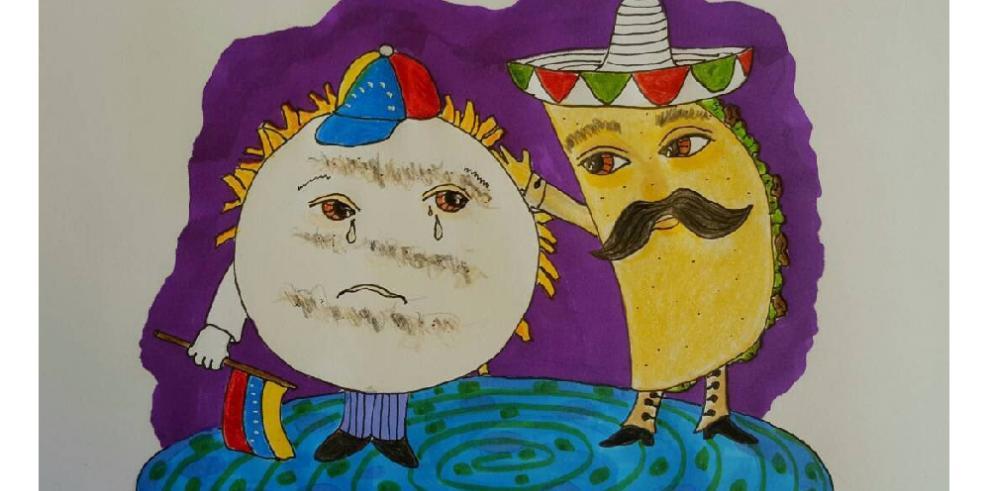 México lo dijo: 'arepa, el taco está contigo'