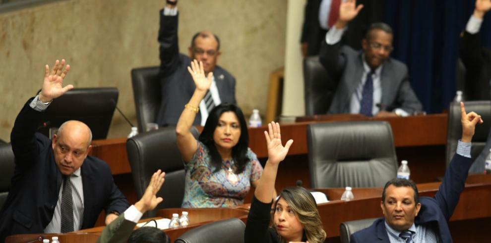Pleno legislativo devuelve a primer debate proyecto de ley 245