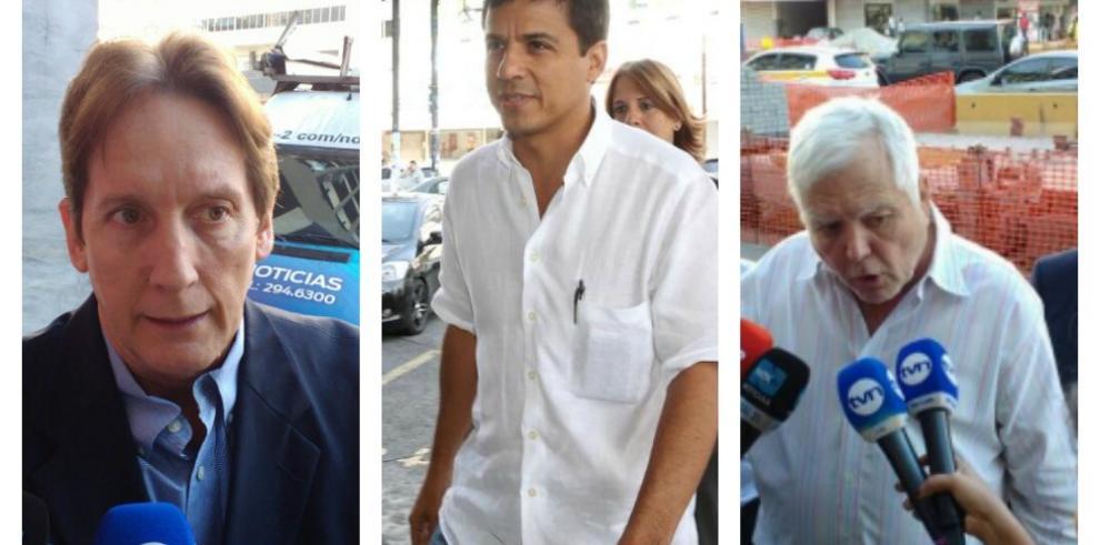 Sáez Llorens, Suárez y Mario Martinelli llegan voluntariamente a Avesa