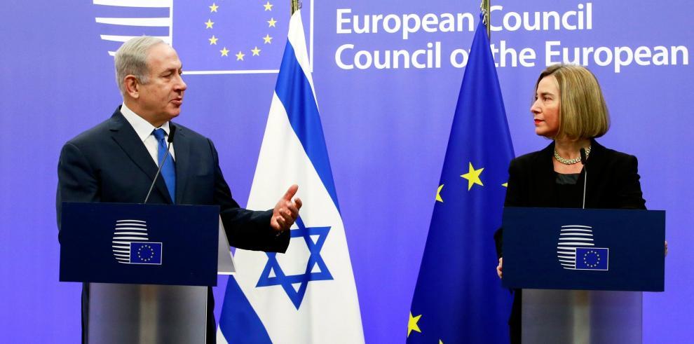 Netanyahu instó a países de la UE a trasladar su embajada a Jerusalén